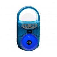 Φορητό Ηχείο ασύρματο  Bluetooth - ραδιόφωνο - MS-1644 Μπλέ