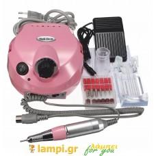 Επαγγελματικός τροχός μανικιούρ - πεντικιούρ - Nail Drill DM-202 - 30W - Χρώμα Ροζ