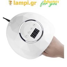 Επαγγελματικό φουρνάκι νυχιών 86 watt με 39 led F6 Smart 2.0 Nail Lamp