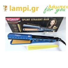 Ισιωτικό μαλλιών SN-822 SONAR