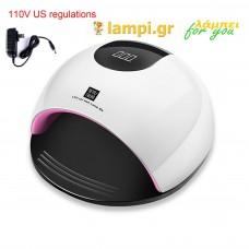 Λάμπα νυχιών Επαγγελματικό Φουρνάκι Νυχιών Smart 2.0 UVLED 80 watt B3