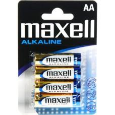 Μπαταρίες Αλκαλικές  AA Συσκευασία μπλίστερ 4 τεμαχίων - MAXELL