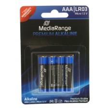 Μπαταρίες Αλκαλικές  AAA (LR03) Συσ.4 τεμ - MediaRange