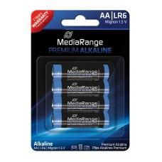 Μπαταρίες Αλκαλικές Premium AA (LR06) - 4PACK - MediaRange