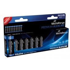 Μπαταρίες Αλκαλικές Premium AA (LR6) - 10TEM - MediaRange