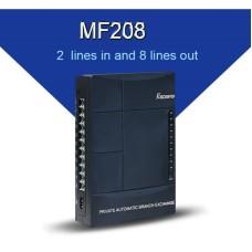 Excelltel MF208 Τηλεφωνικό κέντρο 2 γραμμές PSTN 8 εσωτερικές Day/Night