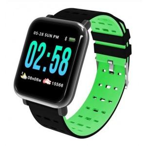 Βιομετρικό Αδιάβροχο Ρολόι Smart Watch,Μέτρ. Βημάτων & Ύπνου-Activity Health & Fitness Tracker - Πράσινο