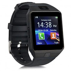 Smart Watch Black EL - Κινητό Τηλέφωνο με Οθόνη Αφής, Βηματόμετρο, SIM, Υποδοχή Micro SD,Ενσωματωμένη Camera  OEM