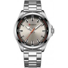 Ανδρικό ρολόι Curren 8320 Silver