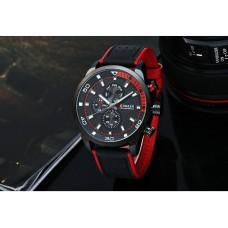 Ρολόι χειρός ανδρικό Curren 8250 Black-Red