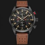 Ρολόι χειρός ανδρικό Curren 8250 Brown-Black