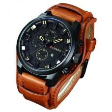 Ρολόι χειρός ανδρικό Curren 8225 Brown-Black