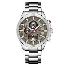 Ρολόι χειρός ανδρικό Curren 8275 Silver