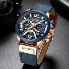 Ρολόι  χειρός ανδρικό Curren 8329 με χρονογράφους Μπλέ