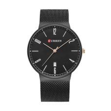 Ρολόι xειρός ανδρικό Curren Μ8257 Μαύρο