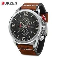 Ανδρικό Ρολόι χειρός με χρονογράφους Curren 8278 Brown