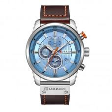 Ρολόι xειρός ανδρικό Curren 8291 Silver-Blue