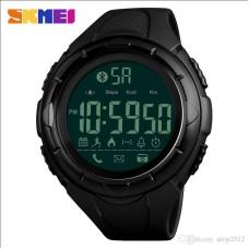 Ρολόι χειρός ανδρικό SKMEI 1326 Smart Watch ρολόι με Βηματομετρητή και Bluetooth Μαύρο