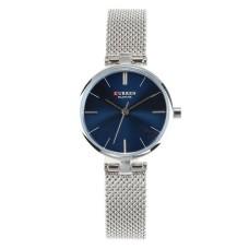 Γυναικείο ρολόι χειρός Curen C9038L Ασημί