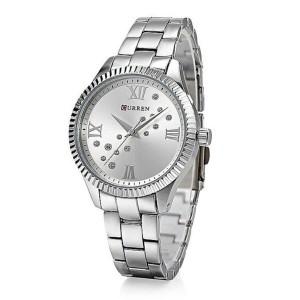 Γυναικείο ρολόι χειρός CURREN 9009 SILVER