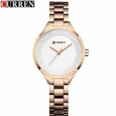 Γυναικείο Ρολόι χειρός Curren 9015 Rose Gold – White