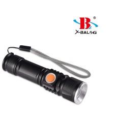 Φακός Αδιάβροχος LED CREE Bailong BL-515-T6 Επαναφορτιζόμενος με USB