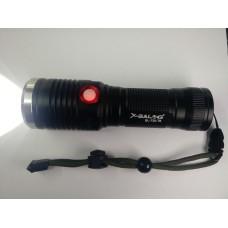Φακός LED CREE L2 Bailong BL-730 επαναφορτιζόμενος  με USB