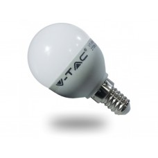 Λάμπα LED μπαλάκι V-TAC 6w θερμού φωτισμού