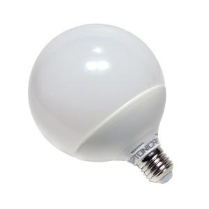 Λάμπα LED E27 G125 18W Ψυχρού Φωτισμού 6000k