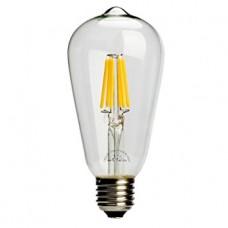 Λαμπτήρας Filament EDISON E27 6W Θερμού Φωτισμού Realux