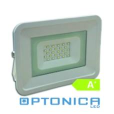 LED ΠΡΟΒΟΛΕΑΣ 20W  SMD  – ΚΛΑΣΙΚΗ ΓΡΑΜΜΗ – IP65 Ψυχρό λευκό - Optonica