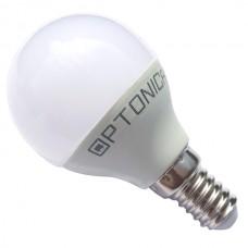 Λάμπα LED G45 E14 6W Θερμού Φωτισμού - OPTONICA