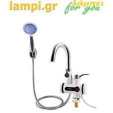Ηλεκτρική βρύση κουζίνας -Ταχυθερμαντήρας Νερού 3000W ΟΕΜ