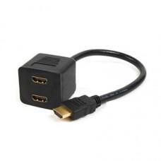 HDMI to x2 FEMALE HDMI HDTV 1080p SPLITTER