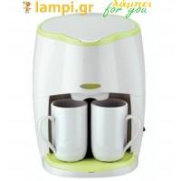 Καφετιέρα φίλτρου Λευκή Sapir SP-1170-LS