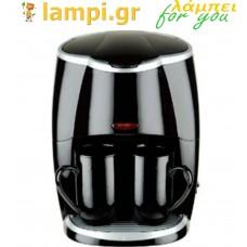 Καφετιέρα φίλτρου Μαύρη Sapir SP-1170-LS