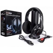 Ασύρματα ακουστικά MH2001 WIRELESS Μαύρα