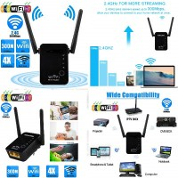 Wireless-N WiFi Repeater 2.4Ghz WLAN 802.11N Q-A46