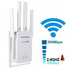 Wireless-N WiFi Repeater 2.4Ghz WLAN 300Mbps