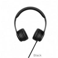 Ακουστικά Headset Hoco W21 Graceful Charm με Μικρόφωνο (Μαύρο)